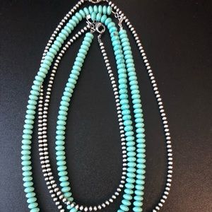 Jewelry - Authentic turquoise strands!!